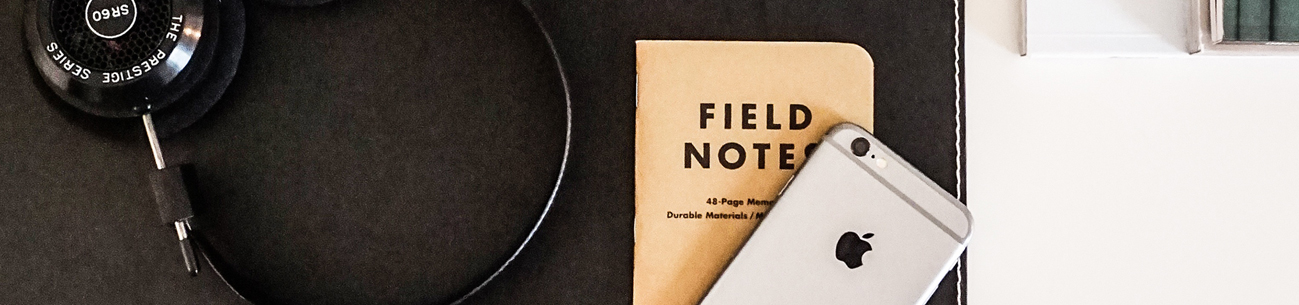 Field Notes, the notepad of designers